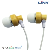 bamboo earphone