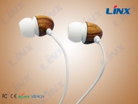 Wooden earphones