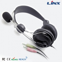 pc headphone_computer headset_tablet headphone with mic LX-T01