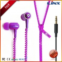 Zipper earbuds LX-ZIP001