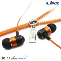 Zipper earpiece LX-ZIP002