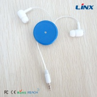 best sound quality retractable earphones earbuds factory oem earplugs