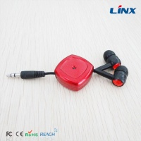 portable retractable earphones from shenzhen for sports