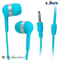 Small In-ear earphone with bright color for mobile phone