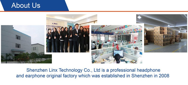 information about Linx Technology headphone factory