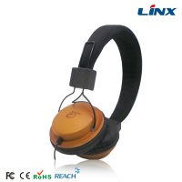 customized headphone wood_wooden brand headset_china cheap wood headphone LX-100W