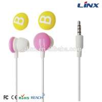 2015 idea product funny ear phones with ce