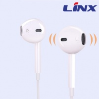 earphone  with  volume control and microphone