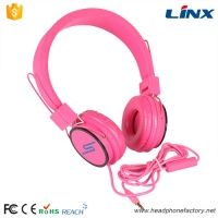 LX-100 Hot selling products custom branded name headphones with CE,RoHS