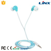 LX-E118 Fashion wholesale colorful wired fancy earphone