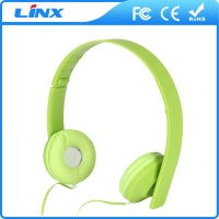 LX-194 Headband Colorful Wired Headphones for Tablet