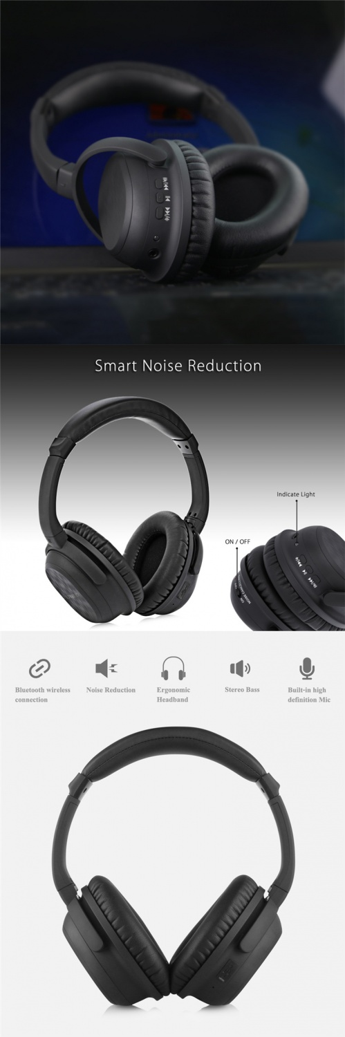 ANC bluetooth wireless headphone 1