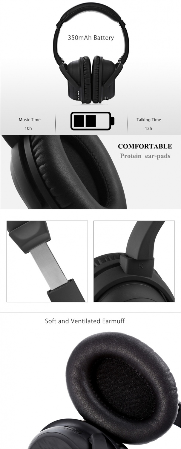 ANC bluetooth wireless headphone 2